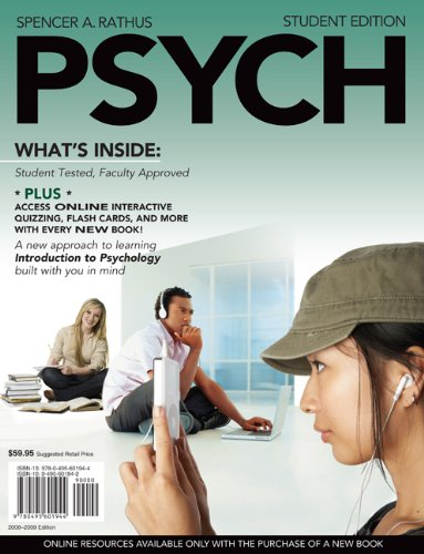 Psych   2009 (Student Manual, Study Guide, etc.) edition cover