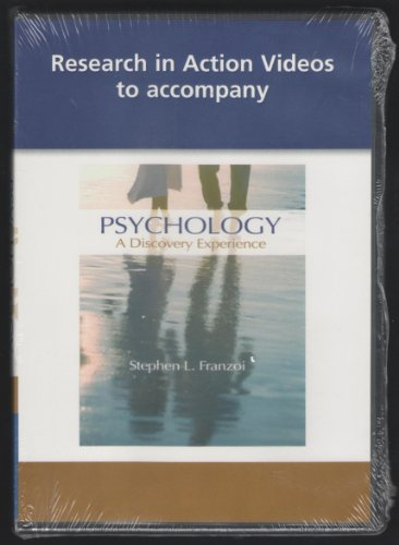 Psychology Research in Action   2011 9780538740944 Front Cover