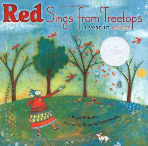 Red Sings from Treetops A Year in Colors  2009 edition cover