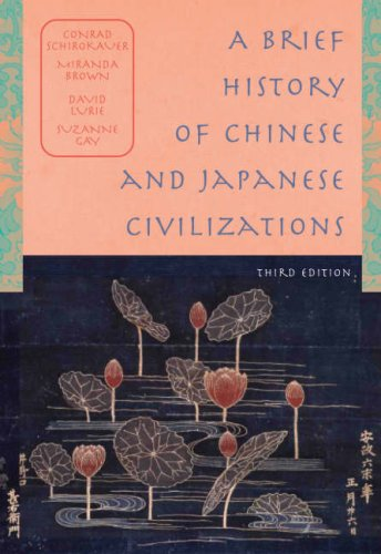 Brief History of Chinese and Japanese Civilizations  3rd 2006 edition cover