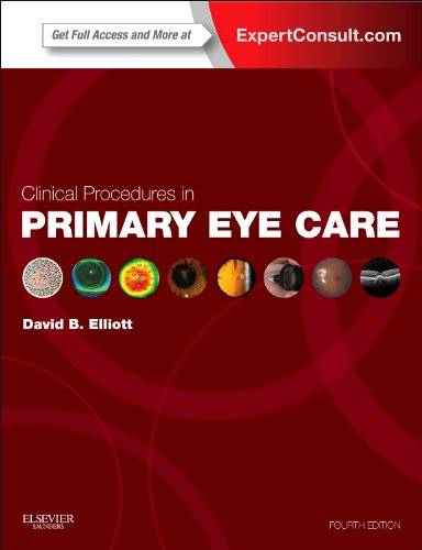 Clinical Procedures in Primary Eye Care Expert Consult: Online and Print 4th 2013 edition cover