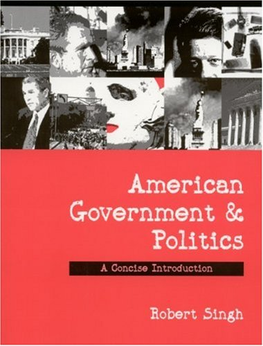 American Government and Politics A Concise Introduction  2003 edition cover