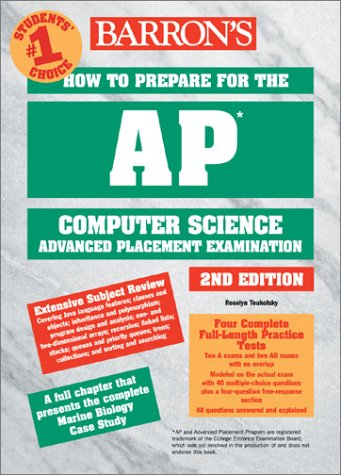 How to Prepare for the AP Computer Science Exam  2nd 2003 9780764121944 Front Cover