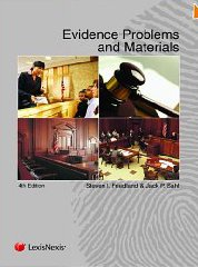 Evidence Problems and Materials  4th 2012 edition cover