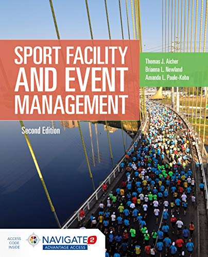 Sport Facility and Event Management  2nd 2019 (Revised) 9781284152944 Front Cover