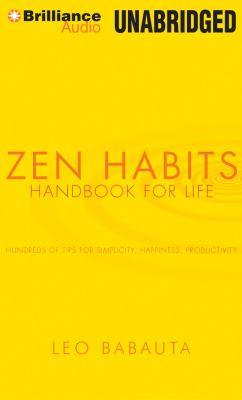 Zen Habits Handbook for Life: Handbook for Life  2012 edition cover