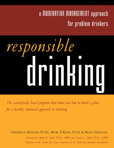 Responsible Drinking A Moderation Management Approach for Problem Drinkers  2002 edition cover