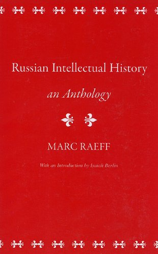 Russian Intellectual History An Anthology N/A edition cover