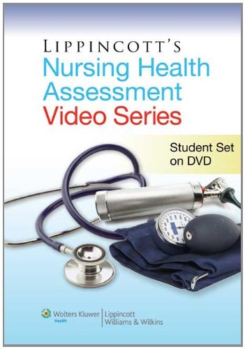 Lippincott's Health Assessment Video Series:  2011 9781608310944 Front Cover