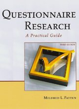 Questionnaire Research A Practical Guide 3rd 2014 edition cover