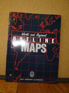 Social Studies : World and Regional Outline Maps N/A 9780030067945 Front Cover