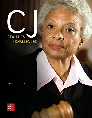 Cj: Realities and Challenges 3rd 2016 9780078140945 Front Cover