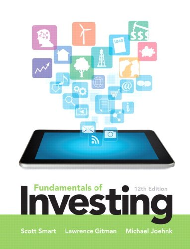 Fundaments of Investing  12th 2014 edition cover