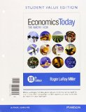 Economics Today The Macro View, Student Value Edition Plus MyEconLab with Pearson EText --Access Card Package 18th 2016 edition cover