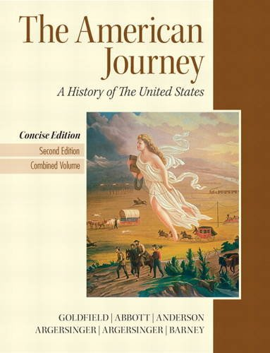 American Journey  2nd 2012 (Revised) edition cover