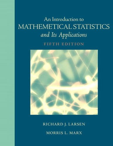 Introduction to Mathematical Statistics and Its Applications  5th 2012 edition cover