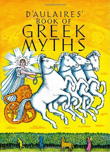 D'Aulaires Book of Greek Myths  N/A 9780440406945 Front Cover