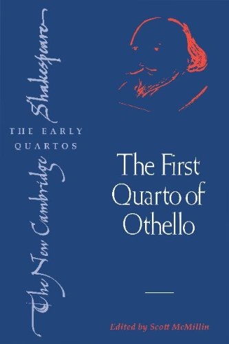 First Quarto of Othello   2005 9780521615945 Front Cover
