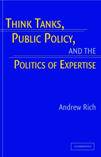 Think Tanks, Public Policy, and the Politics of Expertise   2010 9780521673945 Front Cover