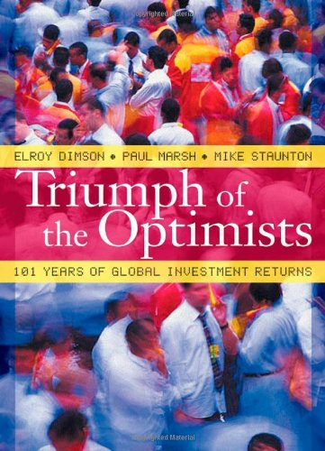 Triumph of the Optimists 101 Years of Global Investment Returns  2002 edition cover