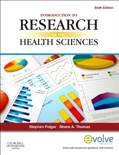 Introduction to Research in the Health Sciences  6th 2013 edition cover