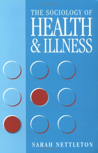 Sociology of Health and Illness   1995 9780745608945 Front Cover