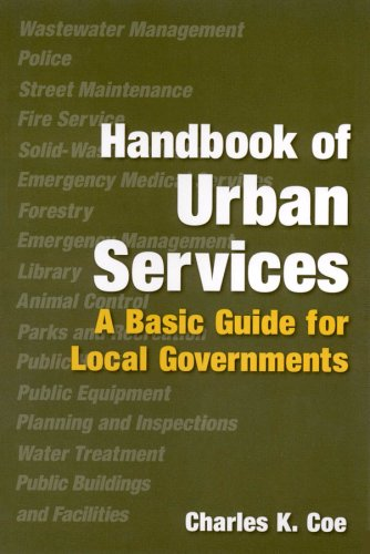 Handbook of Urban Services A Basic Guide for Local Governments  2011 edition cover