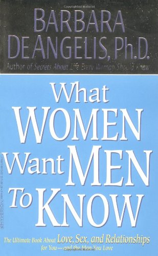 What Women Want Men to Know The Ultimate Book about Love, Sex, and Relationships for You and the Man You Love  2001 edition cover