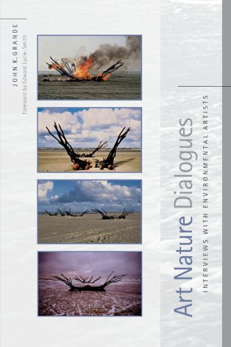 Art Nature Dialogues Interviews with Environmental Artists  2004 edition cover
