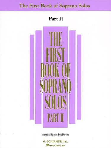 First Book of Soprano Solos  N/A 9780793524945 Front Cover