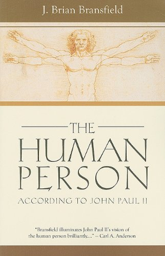 Human Person According to John Paul II  2010 edition cover