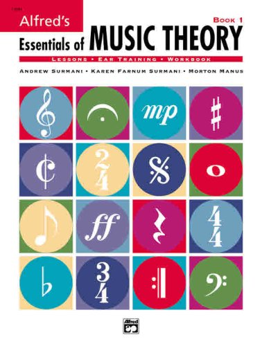Alfred's Essentials of Music Theory   1998 edition cover