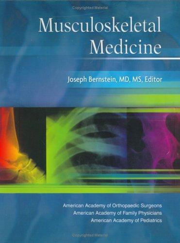 Musculoskeletal Medicine   2003 edition cover