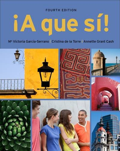 �A Que S�!  4th 2013 edition cover