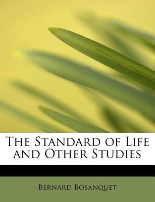 Standard of Life and Other Studies N/A 9781115123945 Front Cover