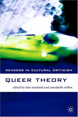 Queer Theory   2005 9781403916945 Front Cover