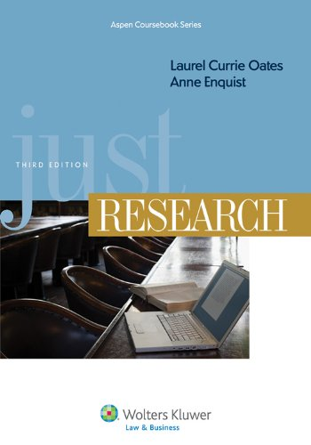 Just Research  3rd 2011 (Revised) edition cover
