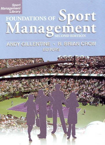 Foundations of Sport Management   2009 edition cover