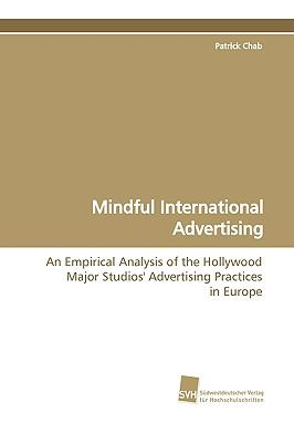 Mindful International Advertising:   2009 9783838103945 Front Cover