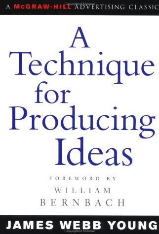 Technique for Producing Ideas   2003 edition cover