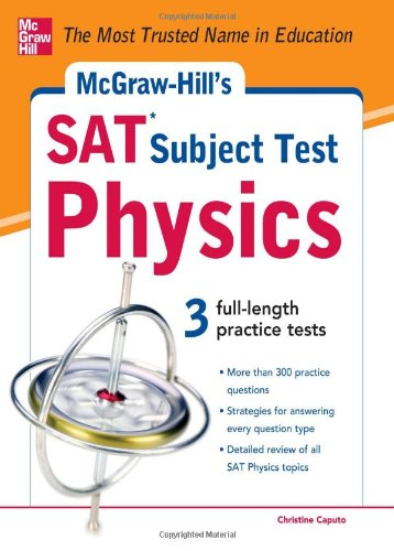 McGraw-Hill's SAT Subject Test Physics   2012 edition cover