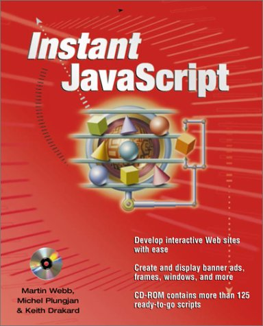 Instant Javascripts   2001 edition cover