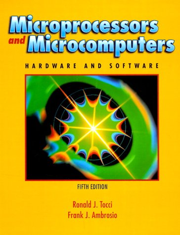 Microprocessors and Microcomputers Hardware and Software 5th 2000 edition cover