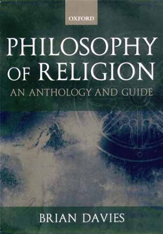 Philosophy of Religion A Guide and Anthology  2000 edition cover