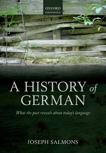 History of German   2012 edition cover
