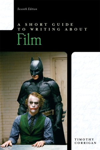 Short Guide to Writing about Film  7th 2010 edition cover