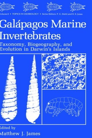 Gal�pagos Marine Invertebrates Taxonomy, Biogeography, and Evolution in Darwin's Islands  1991 9780306437946 Front Cover