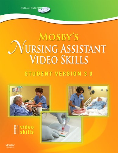 Mosby's Nursing Assistant Video Skills - Student Version DVD 3. 0 3rd 2009 edition cover