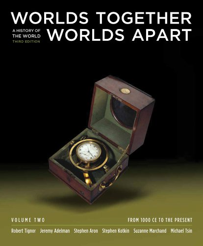 Worlds Together, Worlds Apart A History of the World - From 1000 CE to the Present 3rd 2011 edition cover