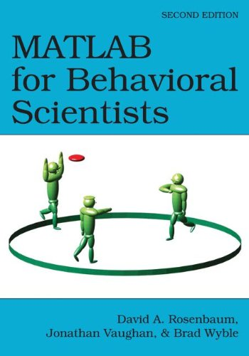 MATLAB for Behavioral Scientists  2nd 2015 (Revised) 9780415535946 Front Cover